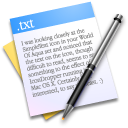 paper text txt writing icon