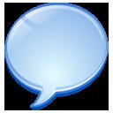 bubble chat comment message speech talk icon