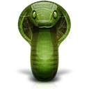 animal cobra snake icon