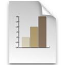 document file graph log icon