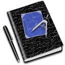 education math notebook icon