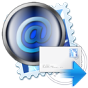 forward mail post icon