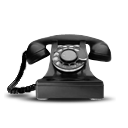 dial phone rotary telecommunication telephone icon