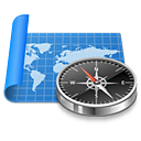 atlas compass exploration map navigation sailing world icon