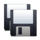 disk save save all icon