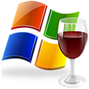 glass windows wine icon