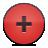 кнопки плюс красный