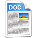 doc files word icon