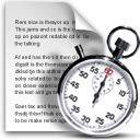 clock cron file schedule stopwatch icon