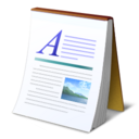 abiword document text icon