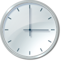 clock cron time watch icon