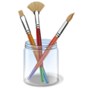 brush color design draw paint icon