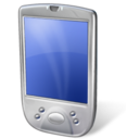 handy mobile phone pda smart phone touchscreen icon