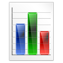 graph log rating icon