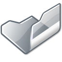 folder grey open