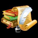 antique books icon