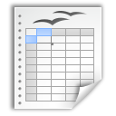 application vnd.stardivision.calc icon