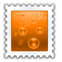 document send stamp icon