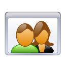 couple people users icon
