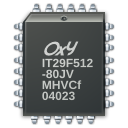 microchip processor icon