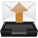 inbox mail outbox read unread icon