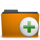 add archive folder orange to icon