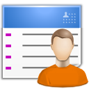 contact list user icon