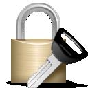 cryptography lock password secret icon