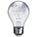 idea lightbulb power icon