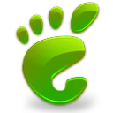 gnome green here start icon