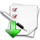 assigned stock task icon