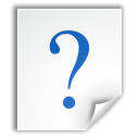 faq file question icon