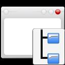 folders tree window icon
