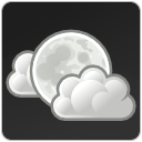 clouds few night weather icon
