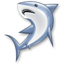 animal fish shark icon