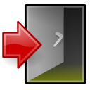 exit system xfce icon
