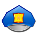 agent hat police icon