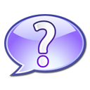 help question mark support icon