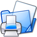 documents folder print icon
