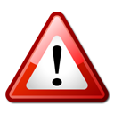 attention important warning icon