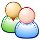 client forum persons users icon
