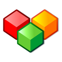 boxes colors modules icon