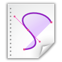 application vnd.oasis.opendocument.graphics icon