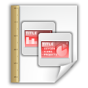 application template vnd.oasis.opendocument.presentation icon