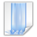bittorrent file stream water icon