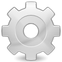 cog gear preferences system icon