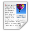 application mswrite x icon