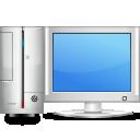 computer monitor pc screen icon