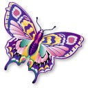 animal butterfly staroffice summerbird icon