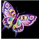 animal butterfly staroffice summerbird icon